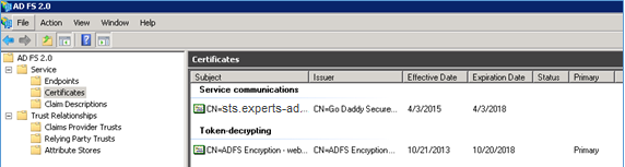 eXperts-Adda - Step By Step - How To Upgrade ADFS 2 0 To ADFS 4 0